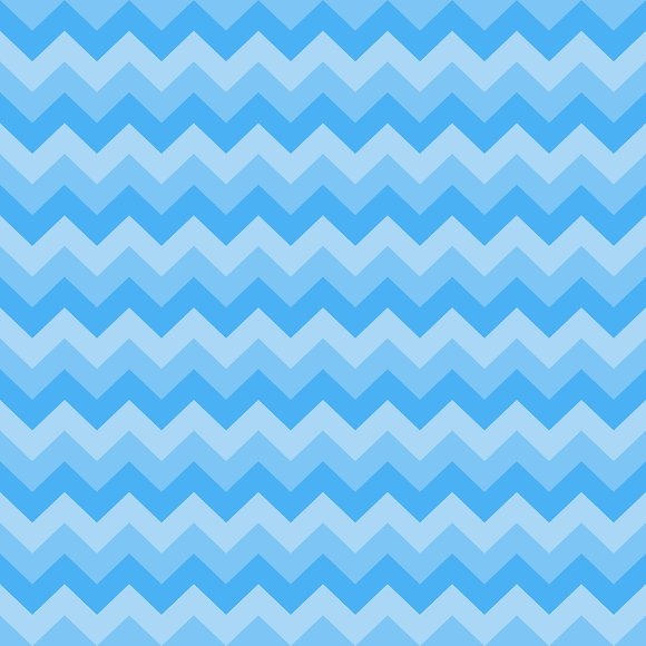 Blue Seamless Chevron Pattern Graphic Patterns Creative Market Best Cheveron Pattern