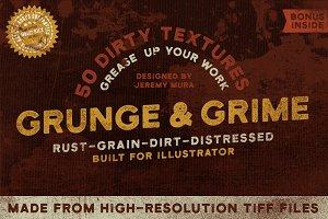 50 Grunge & Grime Textures