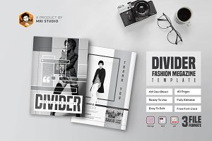 Divider Magazine Templates