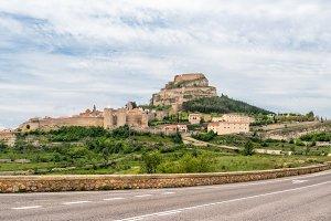 Morella castle, Spain.