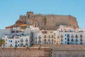 Castle in Peniscola, Spain
