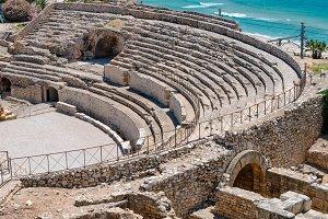 Roman amphitheater, Tarragona Spain