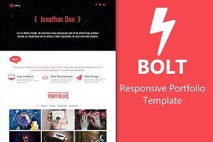 Bolt - Portfolio Template