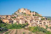 Castle of Alquezar in Spain