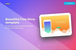 Nova - A premium HTML&CSS template