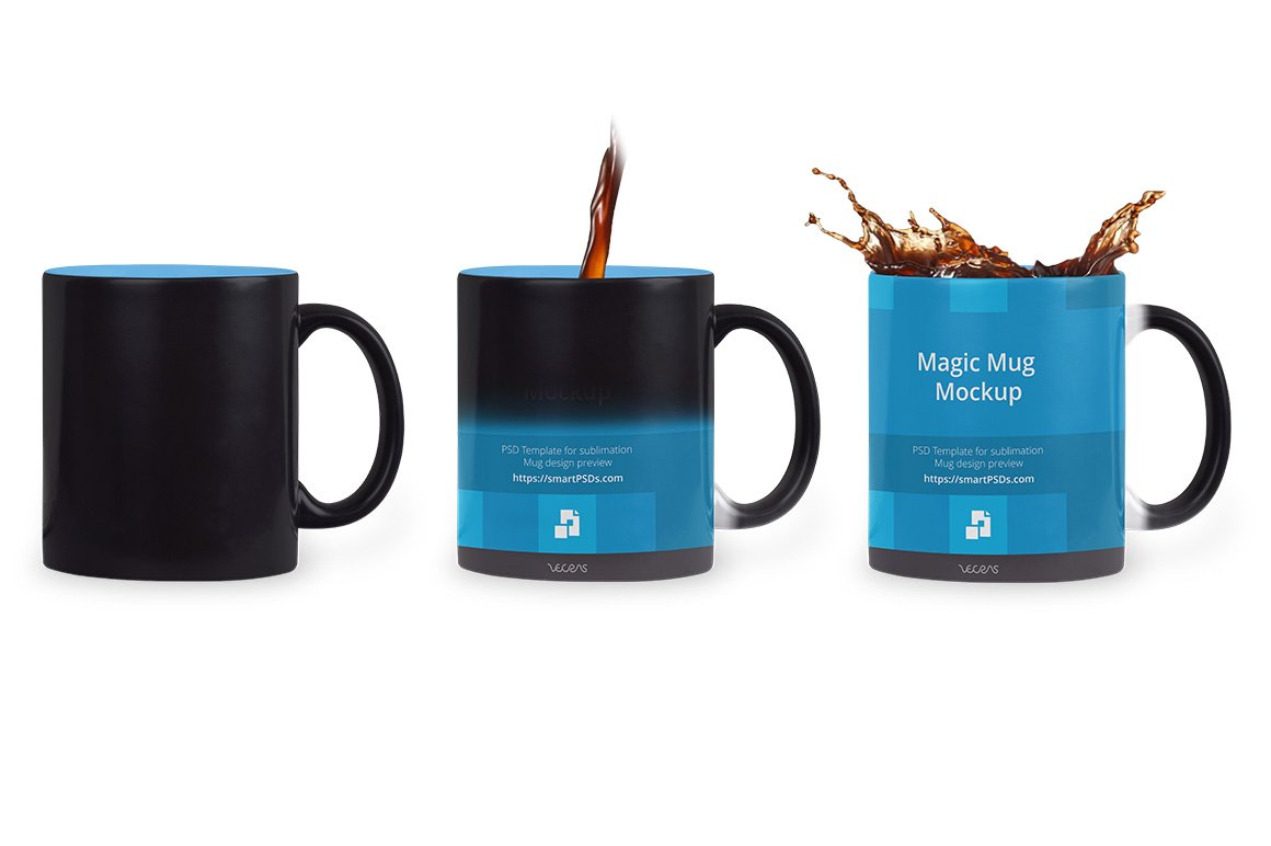 black magic coffee mug design mockup product mockups creative market