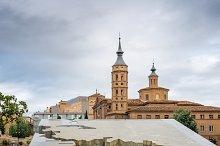 Square of Pilar in Zaragoza, Spain