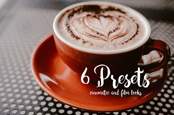 6 Pro Presets Cinematic And Film