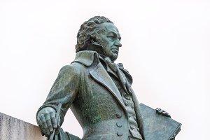 Statue of Goya, Zaragoza, Spain