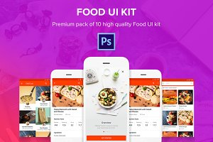 Food - Material Design Templates