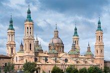 Architecture in Zaragoza , Spain.