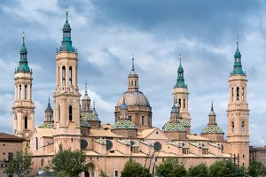 Architecture in Zaragoza , Spain.