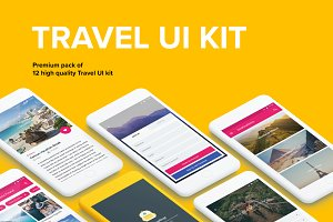 Travel - Material Design Templates