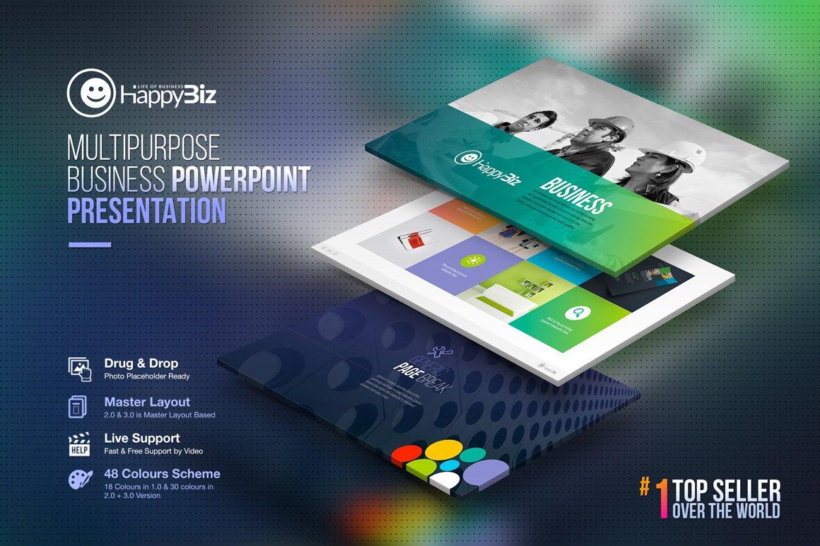 Multipurpose business powerpoint presentation templates creative multipurpose business powerpoint presentation templates creative market toneelgroepblik Gallery