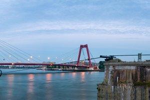 Bridge in Rotterdam, The Netherlands