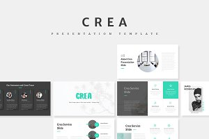 Crea - Creative Keynote Template