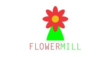 Flowermill Logo Template