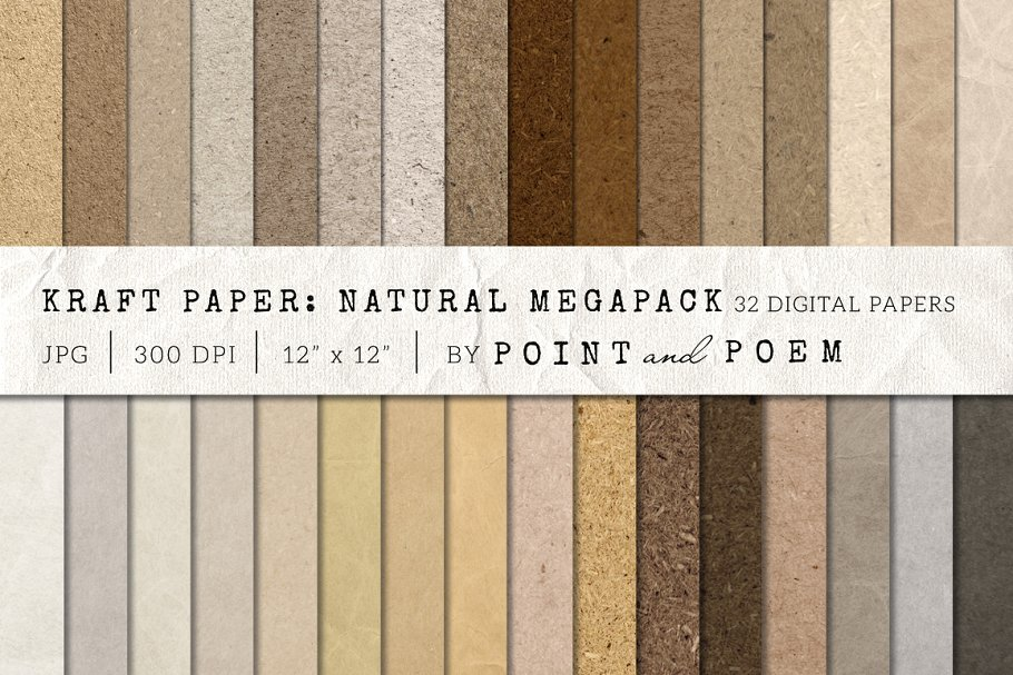 Kraft Paper Texture Pack – Neutral Free Download