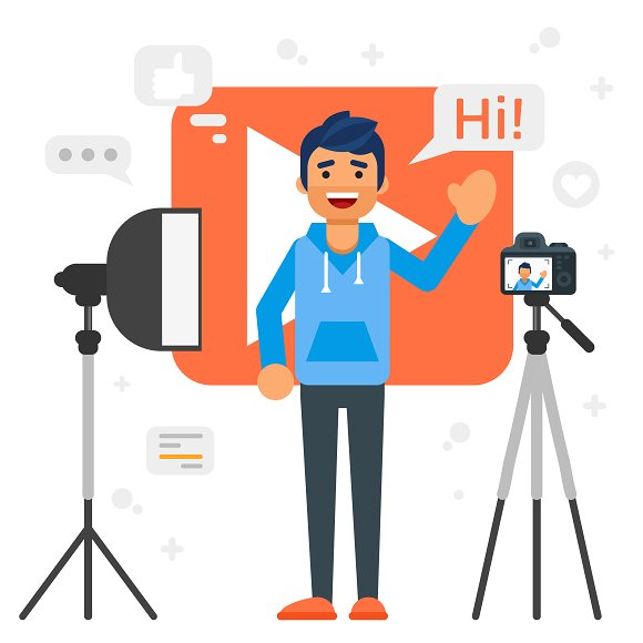 Video Blog Characters