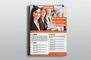 Corporate Flyer Template -V601