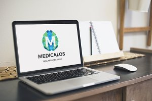 Medicalos (Letter M) Logo