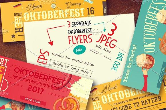 Oktoberfest Beer Festival Banners