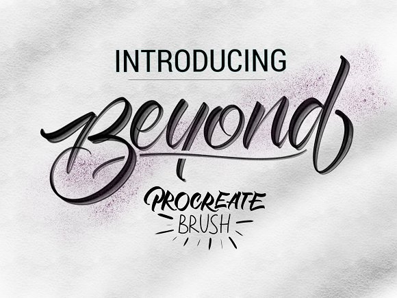 Beyond Procreate Brush