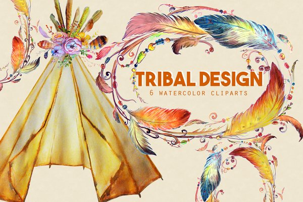 Tribal Designs Clipart Images