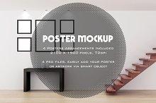 Poster / Artwork interior mockup v2