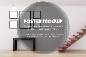 Poster / Artwork interior mockup v2