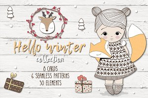 """Hello winter"" collection."