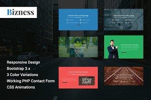Bizness- Corporate Html Landing page