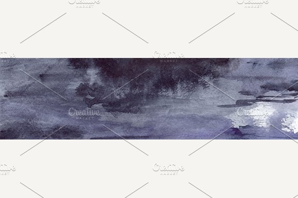 Watercolor Grunge Texture Background