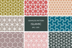 Seamless Islamic star patterns