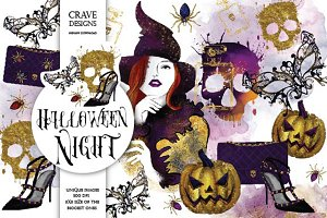 Halloween Night Clip Art