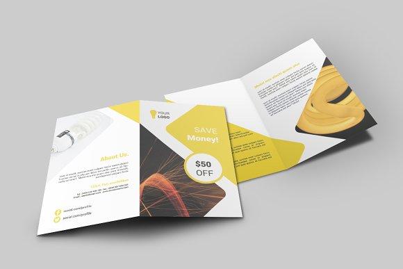 Light Shop Bi-Fold Brochure