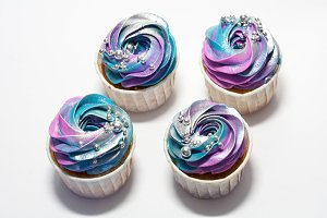 Beautiful and delicious cupcake