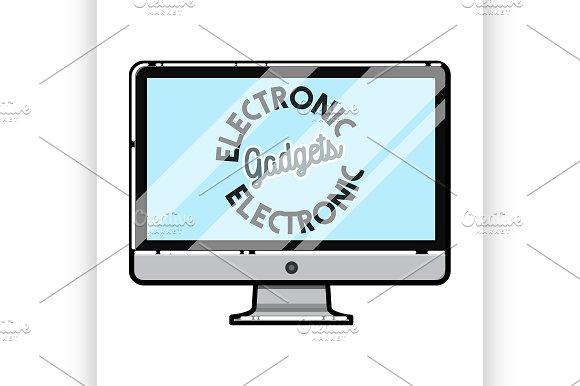 Electronic Gadgets Emblem