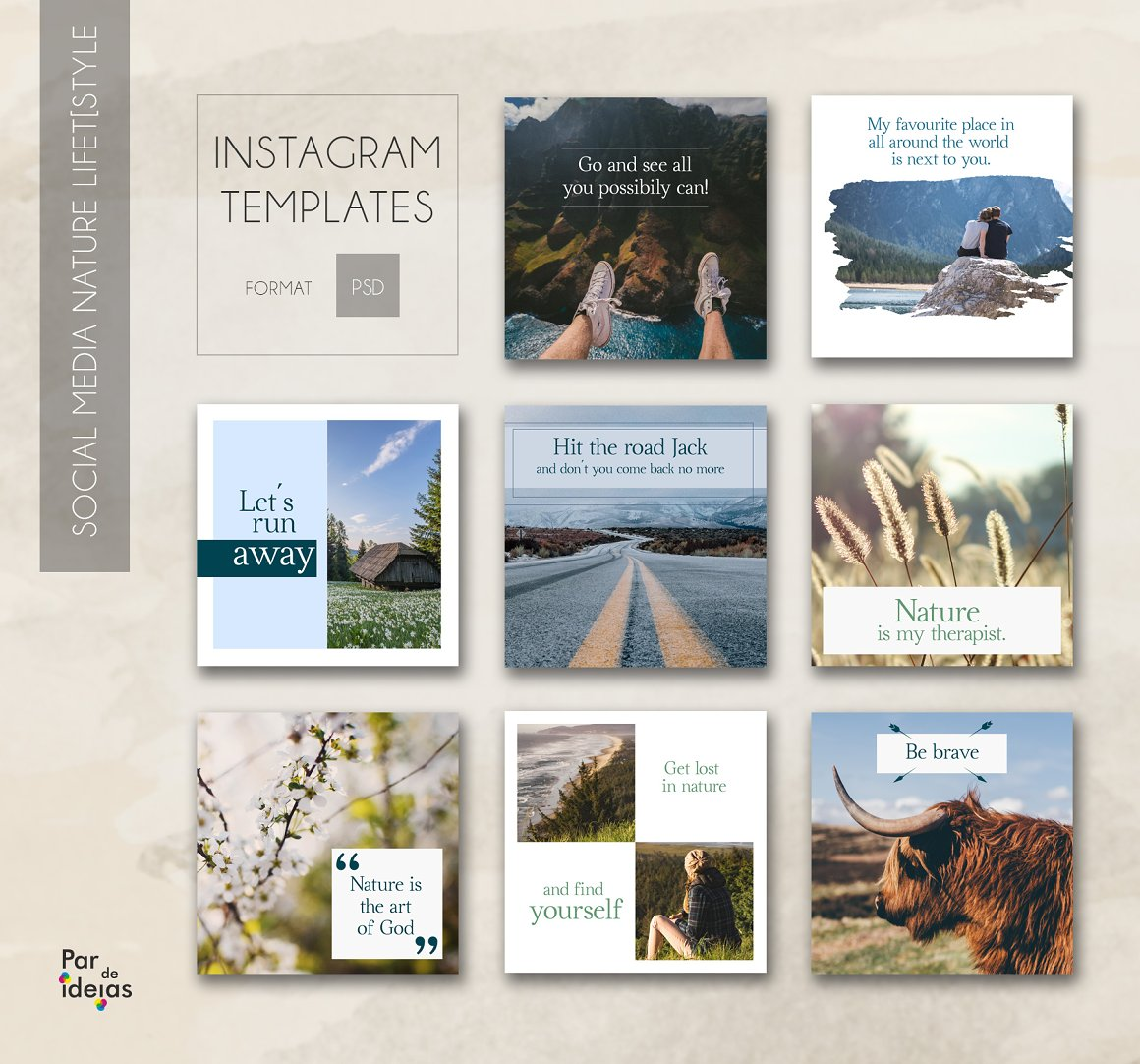 Nature Lifestyle – Social Media Pack