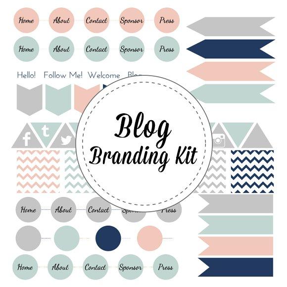 Blog Branding Vector Graphics
