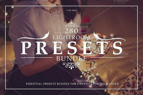 280 Lightroom Presets Bundle