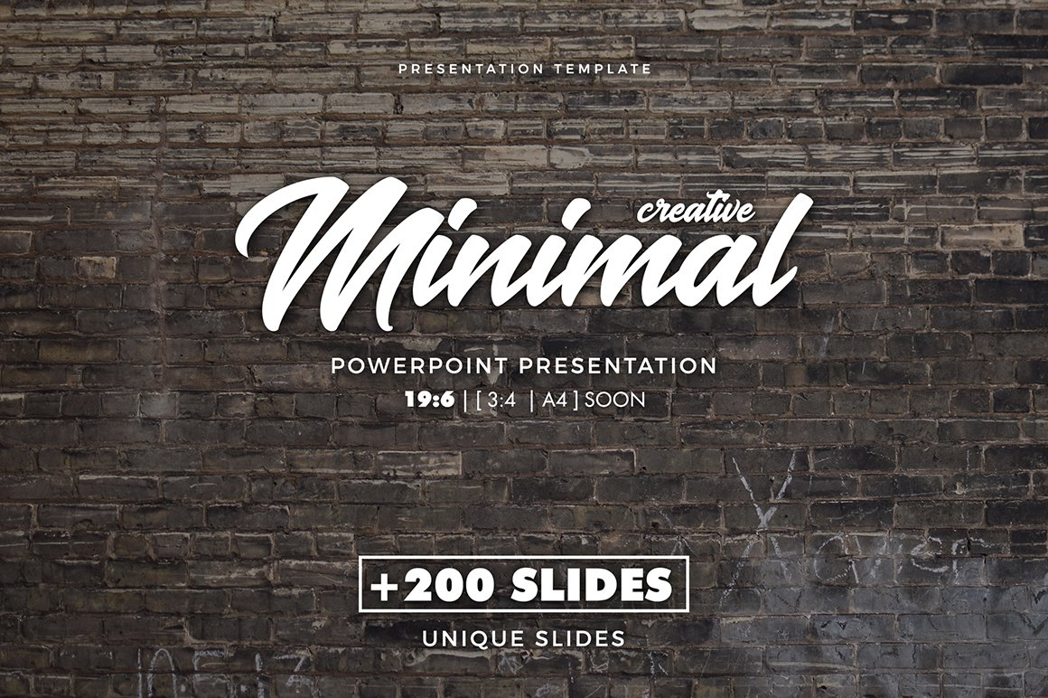 Creative minimal powerpoint template presentation templates creative minimal powerpoint template presentation templates creative market toneelgroepblik Images