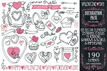 Big Valentines' Day Decoration Kit 1