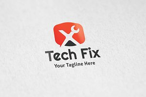Tech Fix - Logo Tempalte