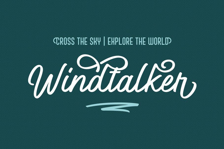 Best Windtalker Regular Vector