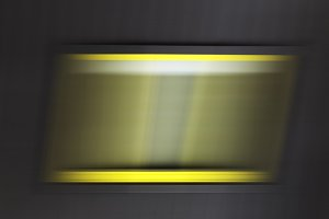 Horizontal motion blurred window background