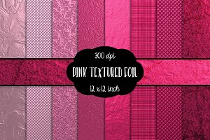 Pink Metallic Digital Paper 300 dpi