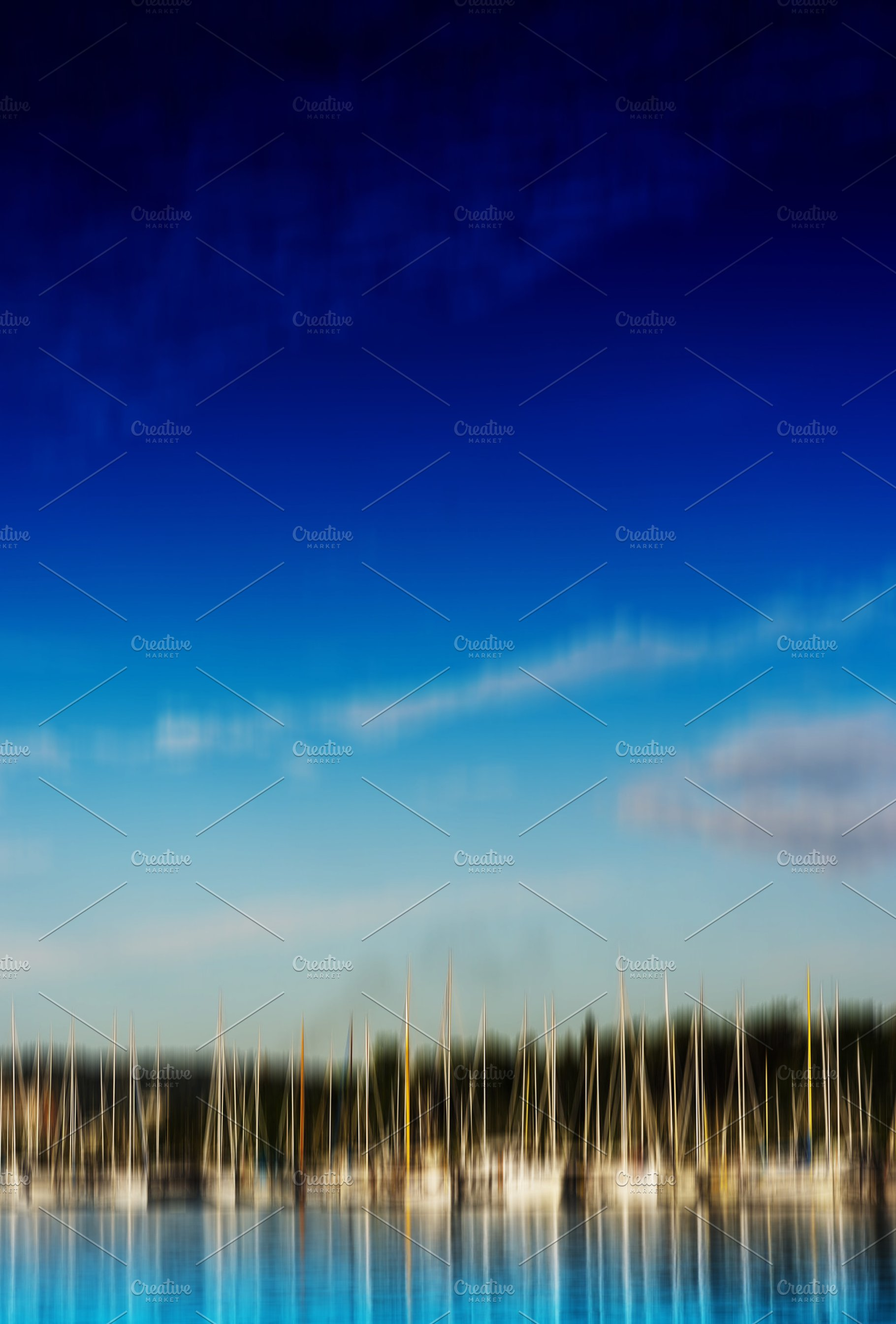 Vertical Motion Blur Yacht Club Background High Quality Abstract