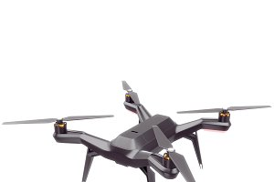 3dr Solo quadcopter 3d model Vray