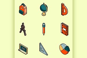 School color icons